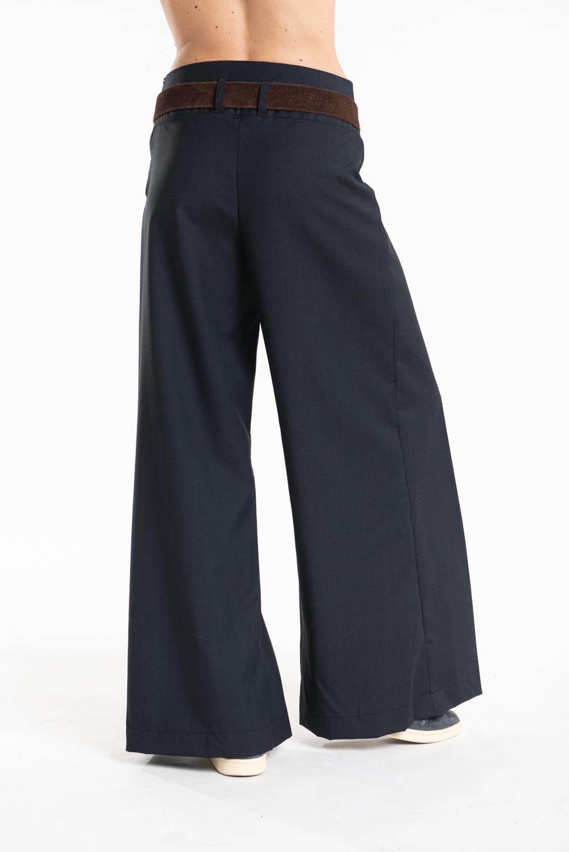 pantalone estivo fresco lana