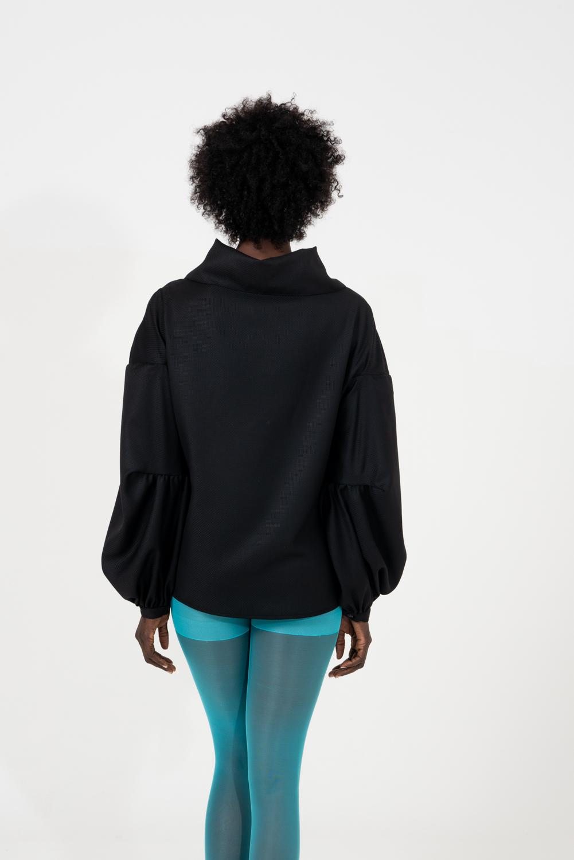 Camicia in lana fine
